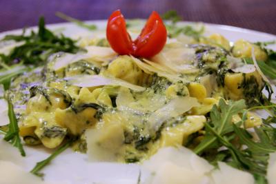 Fiocchetti al Gorgonzola